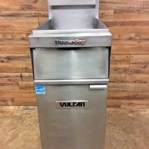 Vulcan Natural Gas Floor Fryer