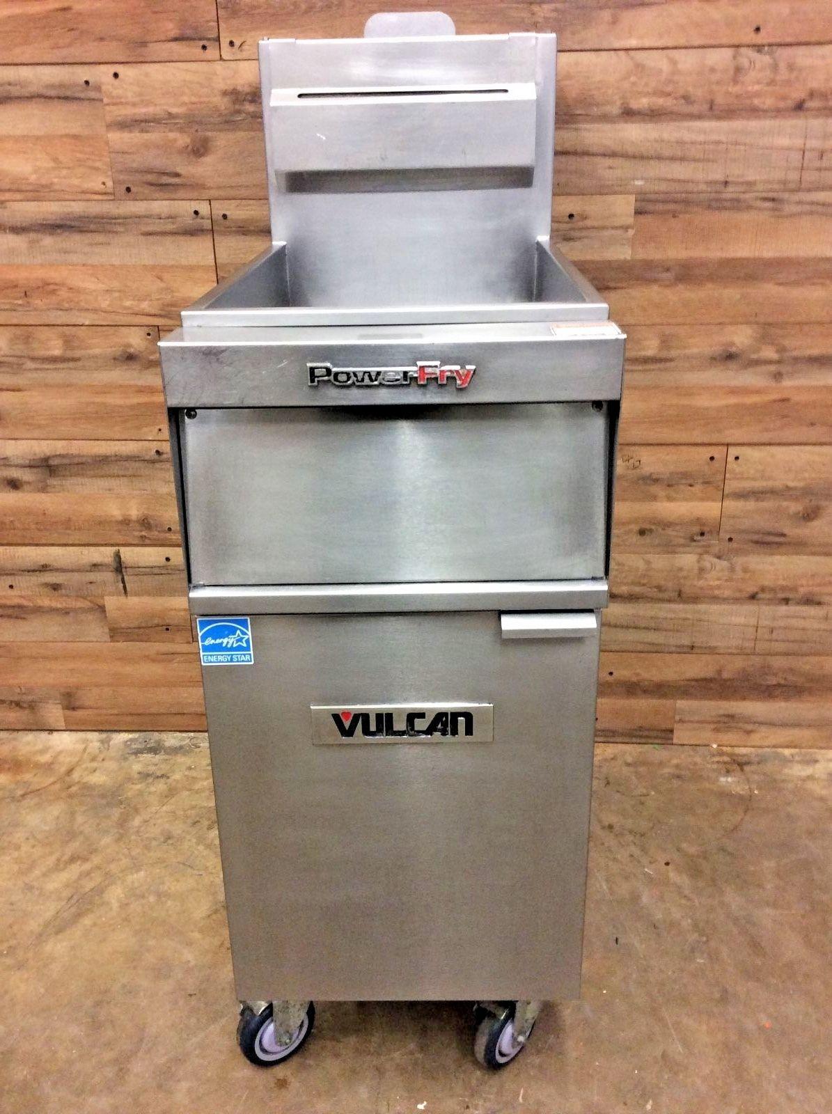 Vulcan Natural Gas Floor Fryer