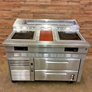 Refrigerated Equipment Base w/ Cooktop
