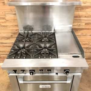 Garland - Gas Range with Griddle