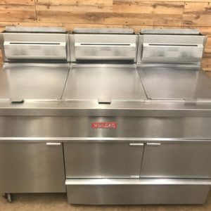 Vulcan 3 Bay Fryer with Filter System