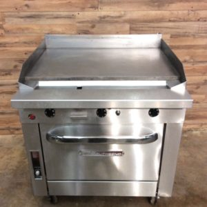 "36"" Griddle with Thermostat"