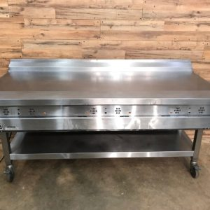 Garland Grill Natural Gas Thermostatic Griddle 72""