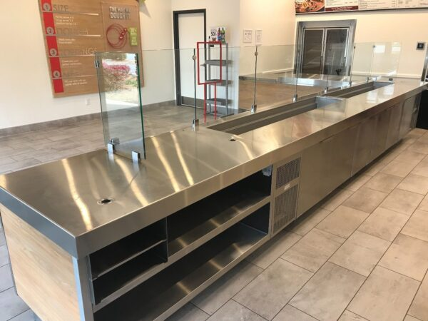 Papa Murphy's Custom Randell Refrigerated Serving Counters
