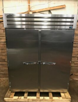 True Two Section Roll-In Refrigerator