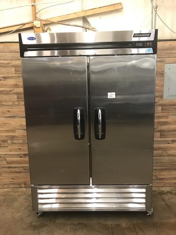 "Nor-Lake AdvantEDGE 55"" Reach-In Freezer"