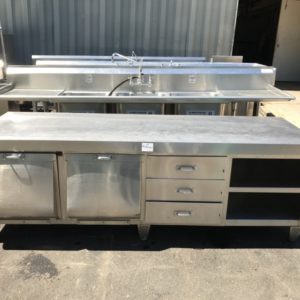Bakers Table Stainless Steel Work Counter