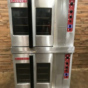 Blodgett Double Stack Convection Ovens Natural Gas