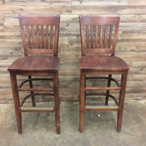 Restaurant Bar Stool Wooden Chairs