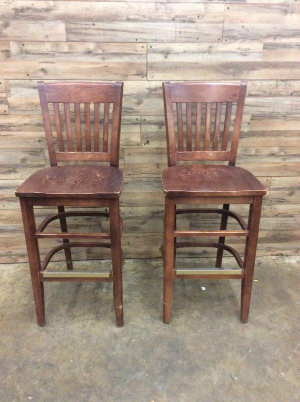 Restaurant Bar Stool Wooden Chairs
