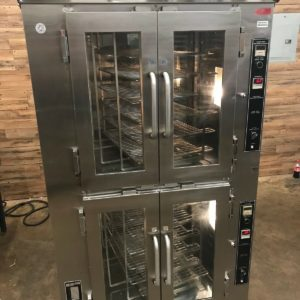 Doyon Double Deck Rotating Rack Convection Oven