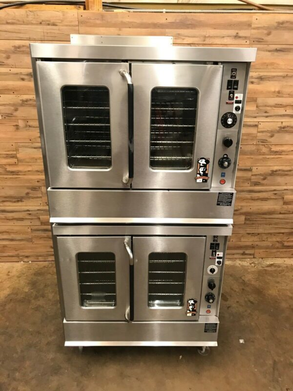 Montague Double Stack Convection Ovens Natural Gas