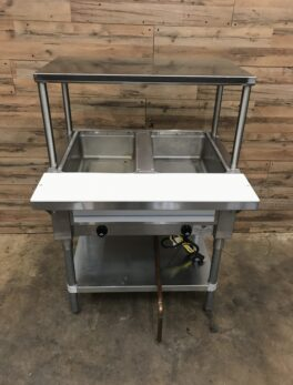 Advance Tabco Hot Food Table w/ 2 Wells