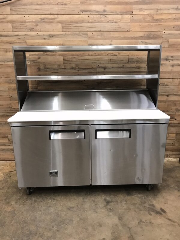 Kelvinator Commercial Sandwich/Salad Prep Table Two-section