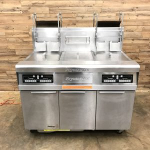 Frymaster NG Floor Fryer w/ Auto Lift Baskets
