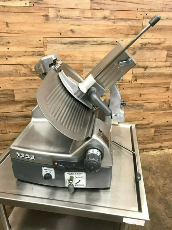 Hobart Commercial Automatic Meat Slicer