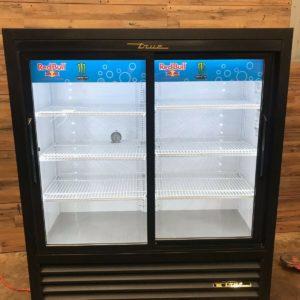 2- Section Refrigerated Merchandiser w/ Sliding Doors