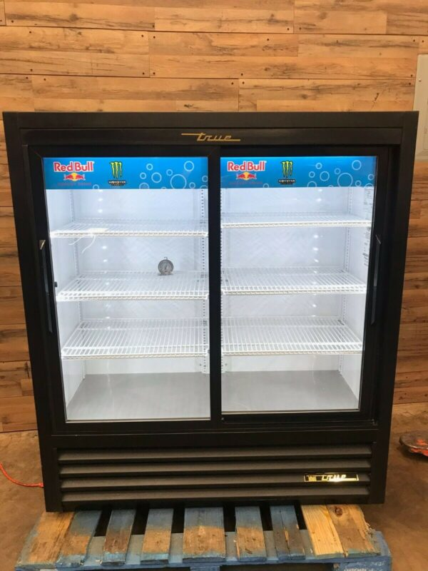 2- Section Refrigerated Merchandiser w/ Sliding Doors