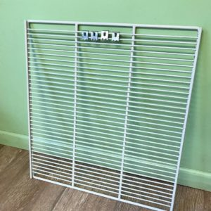 True White Coated Wire Shelf