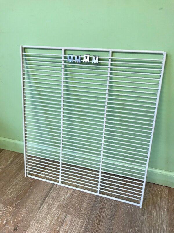 True White Coated Wire Shelf