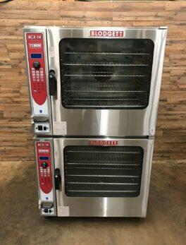Blodgett BCX-14G Natural Gas Double Full Size Combi Ovens