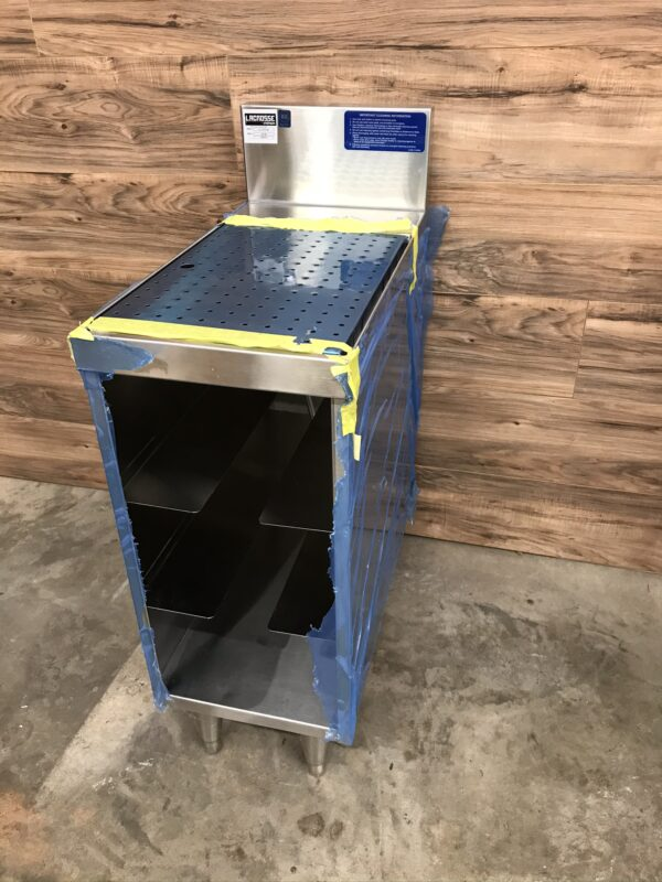 Underbar Glass Rack Storage Unit