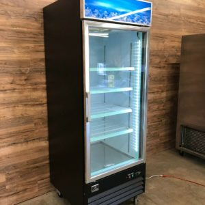 Kelvinator One-section Merchandising Glass Door Freezer