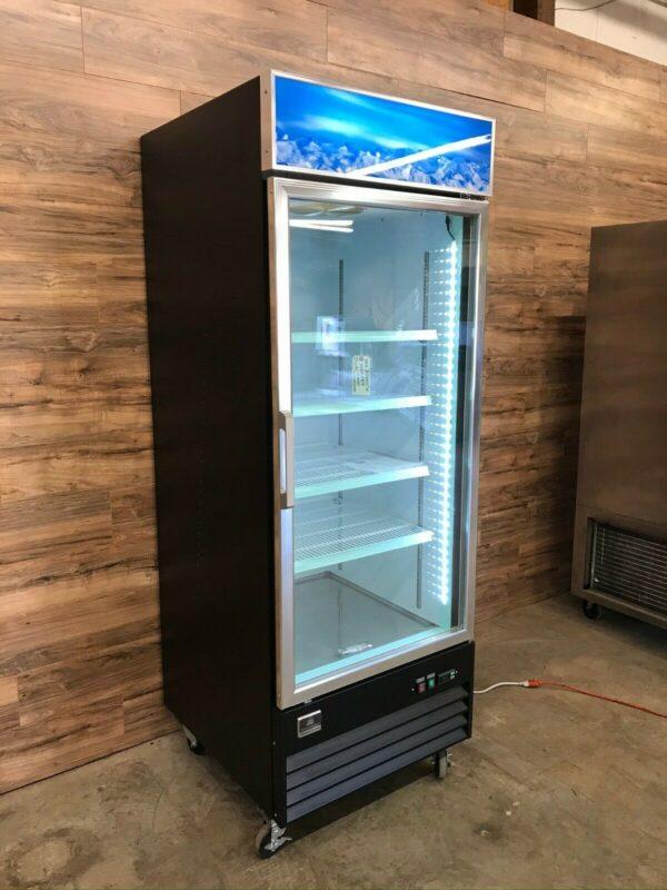 Kelvinator One-section Merchandising Glass Door Freezer