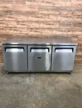 Kelvinator 3-Door Undercounter Refrigerator