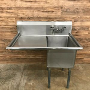 1 Compartment Sink w/ Left Drainboard