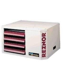 ReznorPower Vented High Static Gas Fired Unit Heater