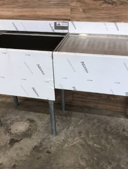 Ice Bin / Drainboard Workstation
