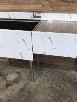 Ice Bin / Drainboard Workstation