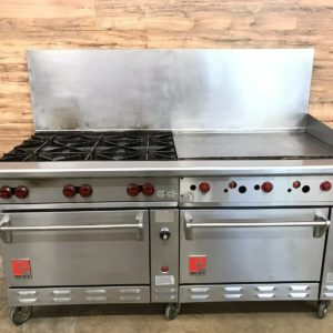 "6 Burner 36"" Griddle w/ Double Oven"