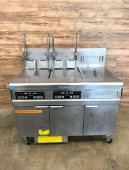 Frymaster Dual Fryer, Filtration, Dump Station