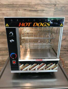 Star Hot Dog Broiler, 36 Dogs & 32 Buns Capacity