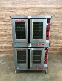 Blodgett Mark V-100 Double-Stacked Electric Convection Oven