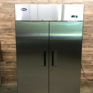 2018 Atosa 2-Door Reach-In Refrigerator, Stainless Steel