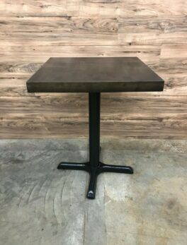 Butcher Block Table Top, Espresso Finish