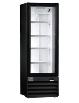 Kelvinator Commercial Merchandiser Refrigerator, 10 cu.ft - 1 Glass Door, Black
