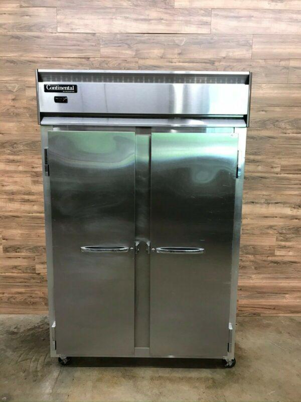 "52"" Solid Door Reach-In Refrigerator"