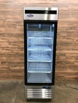 2018 Atosa Glass Door Merchandiser Refrigerator