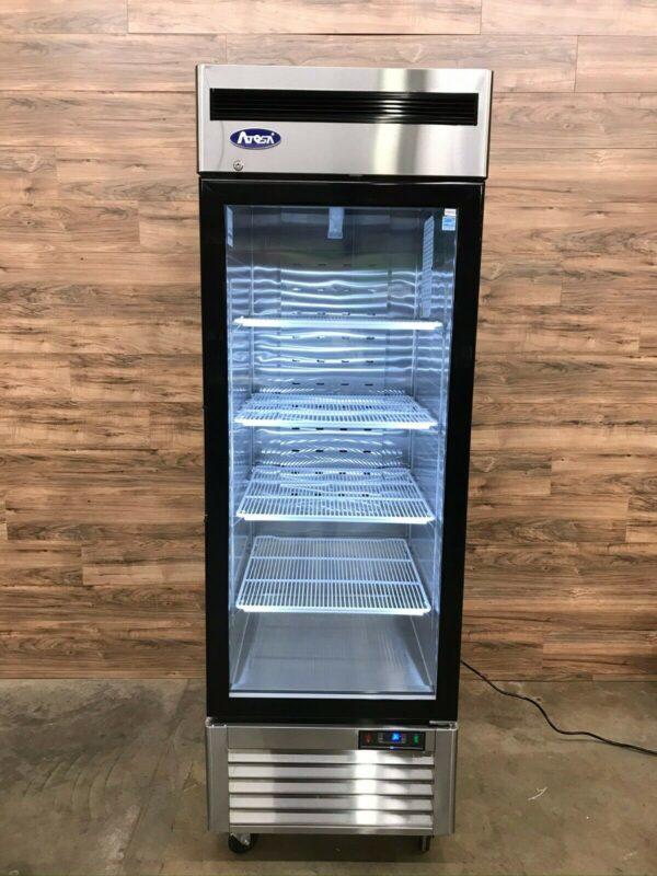 2018 Atosa Glass Door Merchandiser Refrigerator