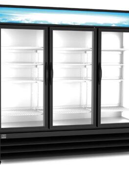 Kelvinator 3 Glass Door Merchandiser Refrigerator