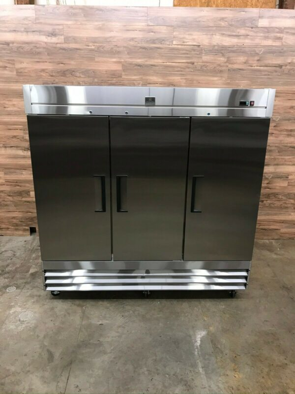 3-Section Reach-In Freezer