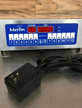 Prince Castle Merlin Single Function 12 Channel Timer
