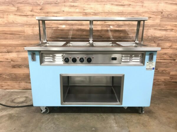 4 Well Electric Hot Food Serving Counter
