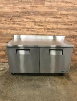 """60"""" Worktop Refrigerator, 2 Sections"""
