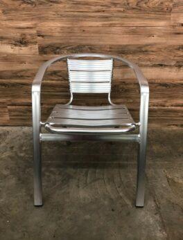 Aluminum Stacking Indoor-Outdoor Restaurant Chair
