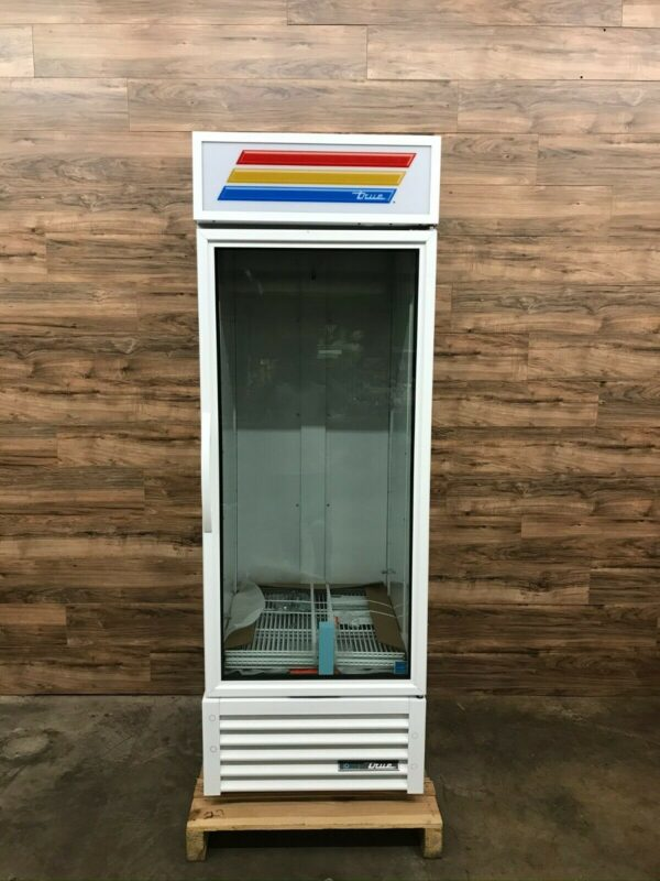 True One Section Glass Door Merchandiser